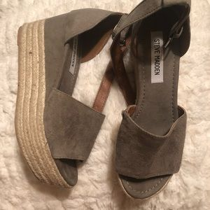 Steve Madden wedges/ platforms